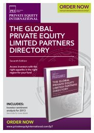 THE GLOBAL PRIVATE EQUITY LIMITED PARTNERS DIRECTORY
