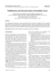 Solidification and Structuresation of Instability Zones - Humus.ru