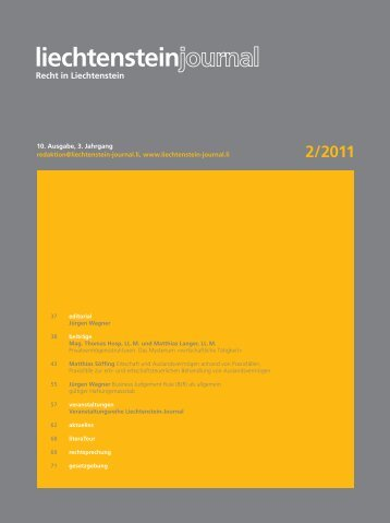 2/2011 - Liechtenstein-Journal