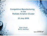 Waikato Aviation Cluster - Aviation NZ