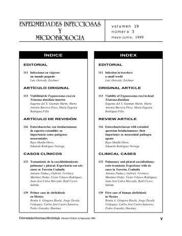 Volumen 19 No 3 - Asociación Mexicana de Infectología y ...