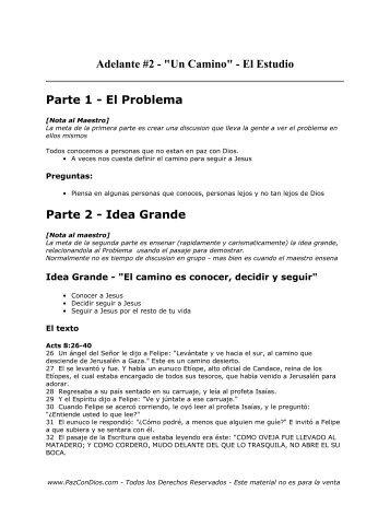Adelante - 2 - Estudio - PazConDios