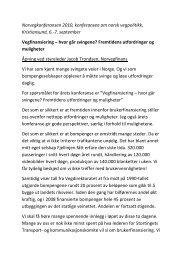 Norvegkonferansen 2010, konferansen om norsk ... - Norvegfinans