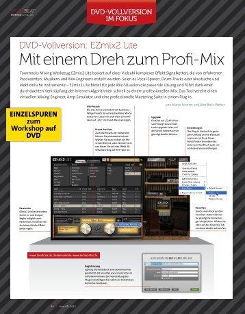 EZMix Workshop 1/2 - BEAT 05/2013 - marcoscherer.de