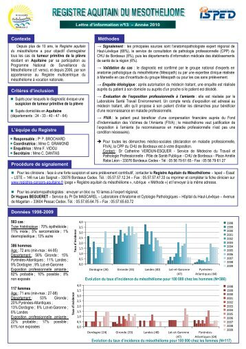 N°13 – Année 2010 - LSTE : www.isped