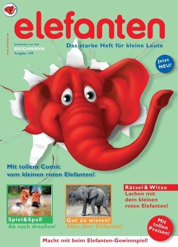 Mit tollem Comic vom kleinen roten Elefanten! - Deichmann ...