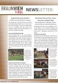 NEWSLETTER - Braunvieh Tirol - Seite 2