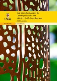 Vice-Chancellor's Awards for Teaching Excellence and Initiatives ...