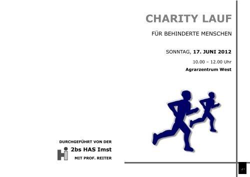 Folder zur Charityaktion für behinderte Menschen ... - Braunvieh Tirol