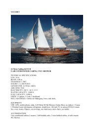 YUCEBEY 24 Meter Sailing KETCH 5 AIR ... - Serko Sailing