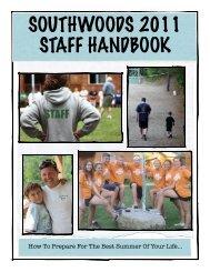 Staff Handbook 2011 Final - Southwoods