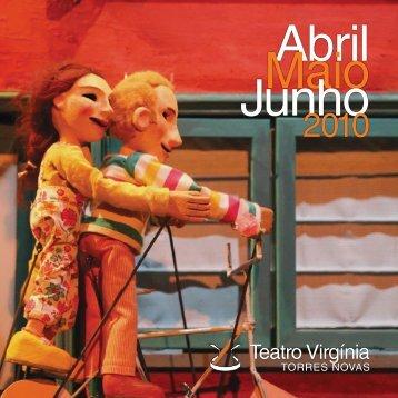Abril Maio Junho - Teatro Virgínia