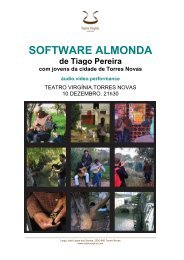 software almonda - Teatro Virgínia