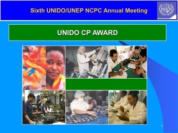 CP AWARD for companies participating in CP programme - National ...