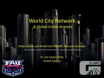 World City Network - JosephZamora.com