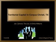 Territorial Capital in Corpus Christi, TX - JosephZamora.com