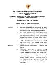 15/m-dag/per/3/2006 tentang pengawasan dan pengendalian impor ...