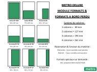 Fiche technique Metro Deluxe 2013