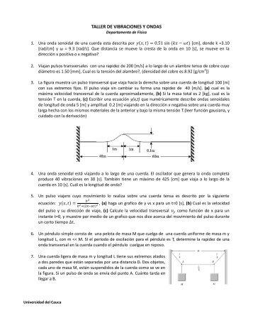Descargue Taller No.3 - Universidad del Cauca