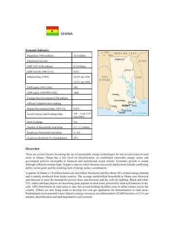 GHANA Overview - BioEnergy Discussion Lists