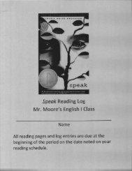 Speak Study Guide.pdf - Hinsdale South High School