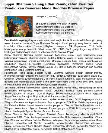 Departemen Agama RI | Kantor Wilayah Papua
