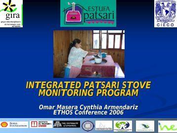 Integrated Patsari Stove Monitoring Program - BioEnergy Discussion ...