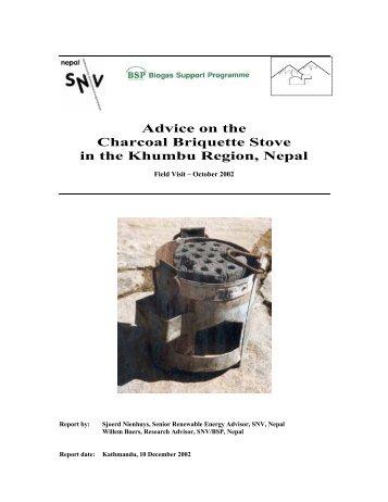 Advice Report briqs.pdf - BioEnergy Discussion Lists