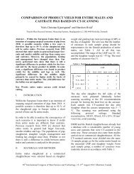 PAPER-Comparison of Product Yield for Entire Males and Castrates ...