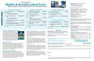 Study Abroad: Waikiki & Hawaiian Island Cruise - School of ...