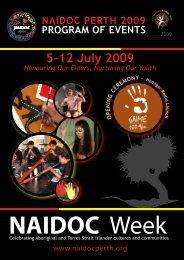 Program of Events - NAIDOC Perth