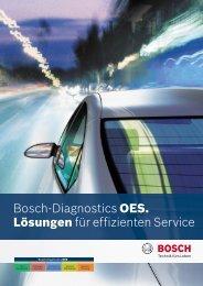 Bosch-Diagnostics OES. Lösungen für effizienten Service (PDF)