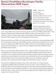 djubi.com || An Alternative Media in Tanah Papua ||tabloid
