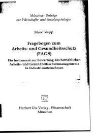 und Einleitung (266 KB) - Herbert Utz Verlag GmbH