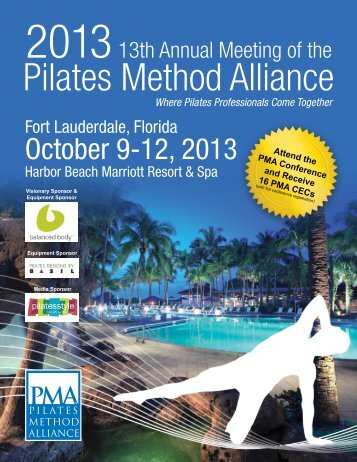 On-Line Brochure - Pilates Method Alliance