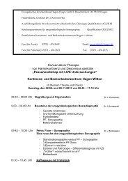 Flyer und Programm - AGUB