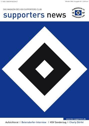 T-Shirts: Volksparkstadion aus Tradition - HSV Supporters Club