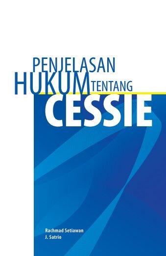 Restatement Cessie - Direktorat Hukum dan HAM