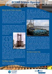 ESO - European Consortium for Ocean Research Drilling