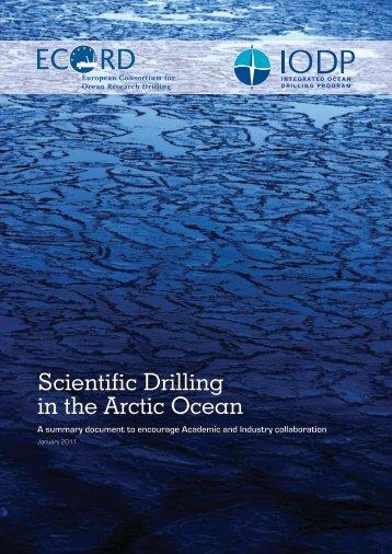 Scientific Drilling in the Arctic Ocean - ECORD