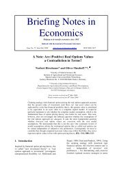 Briefing Notes in Economics - Richmond - The American ...