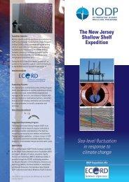English version - European Consortium for Ocean Research Drilling