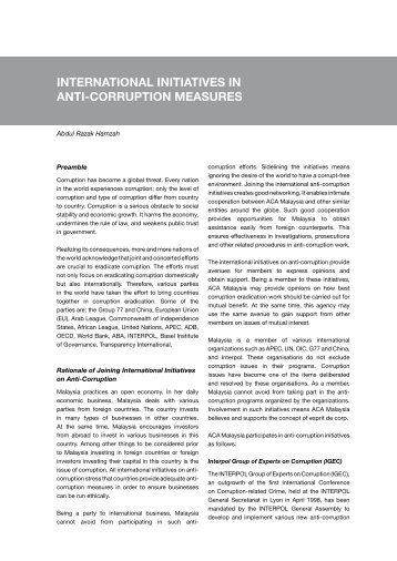 essay on anti corruption measures in public life Essay on corruption for school students  various measures can be suggested to kill the devil of corruption like transparency in public life, stringent laws to deal with the corruption cases, electoral reforms to check the misuse of money and muscle powers, reform in judiciary system, to quicken the disposal of cases of corruption etc, but.