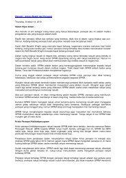 Rasuah : Antara Realiti dan Persepsi Thursday, October 14, 2010 ...