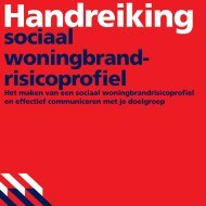 sociaal woningbrand- risicoprofiel - Brandweer