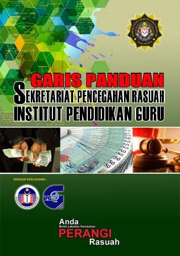 Garis Panduan - Suruhanjaya Pencegahan Rasuah Malaysia