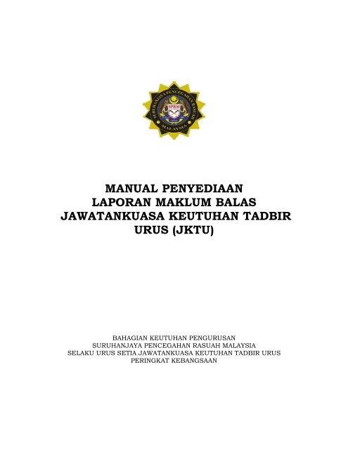 jktu - Suruhanjaya Pencegahan Rasuah Malaysia