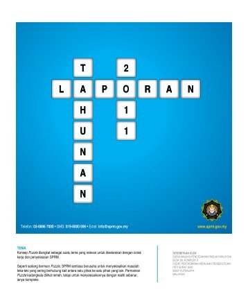 Laporan Tahunan SPRM 2011 - Suruhanjaya Pencegahan Rasuah ...