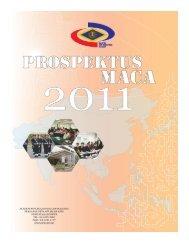Prospektus MACA 2011 - Akademi Pencegahan Rasuah Malaysia