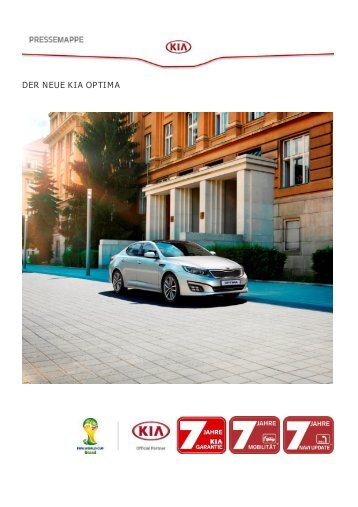 Download Pressemappe Optima Facelift - Kia